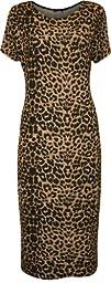 WearAll Women's Plus Size Print Midi…