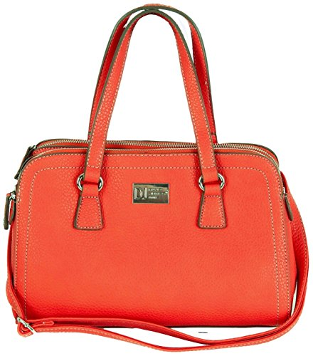 David Jones Grab Borsetta a spalla a 3 scomparti, colori favolosi: 3808
