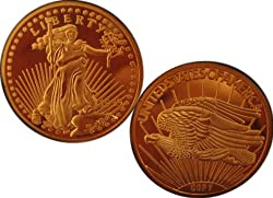 Lot of 50 - 1933 $20 St Gaudens Double Eagle Gold Coins - Replica