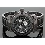 Aqua Master Mens Diamond Watch 0.20ct w-146