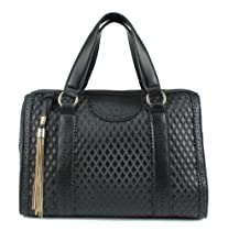 Scarleton Quilted Satchel H114901 - Black
