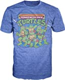 Teenage Mutant Ninja Turtles Group Image T-Shirt (X-Large)