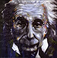 CANV00002 - It's All Relative by Stephen Fishwick (Albert Einstein 12x12 Canvas Print)