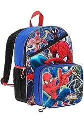 Spider Man Backpack School Bag Marvel Boys Kids 16 Ultimate Children Lunch