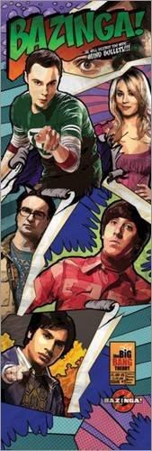 Poster The Big Bang Theory - Comic Bazinga - manifesto risparmio, cartellone XXL