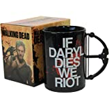 The Walking Dead If Daryl Dies We Riot 15oz Crossbow Mug