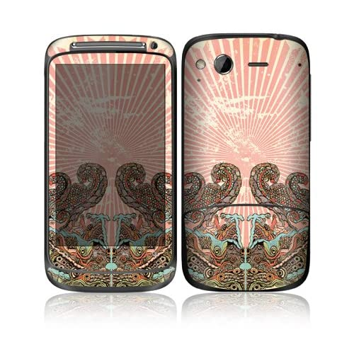 Find Joy Design Decorative Skin Cover Decal Sticker for HTC Desire S Cell Phone