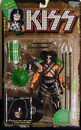 Picture of McFarlane 1997 KISS Ultra Action Figure with Gold Record - Peter Criss (B001N18KHK) (McFarlane Action Figures)