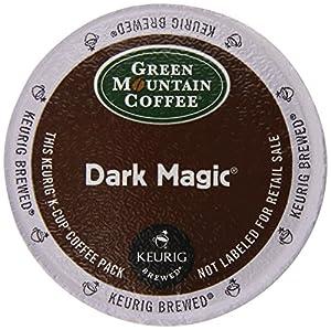 Keurig, Green Mountain Coffee, Dark Magic (Extra Bold), K-Cup Packs, 50 Count