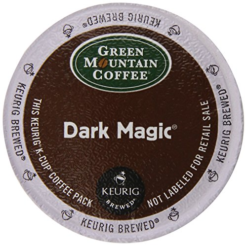 Keurig, Green Mountain Coffee, Dark Magic (Extra Bold), K-Cup Counts, 50 Count (Dark Coffee compare prices)