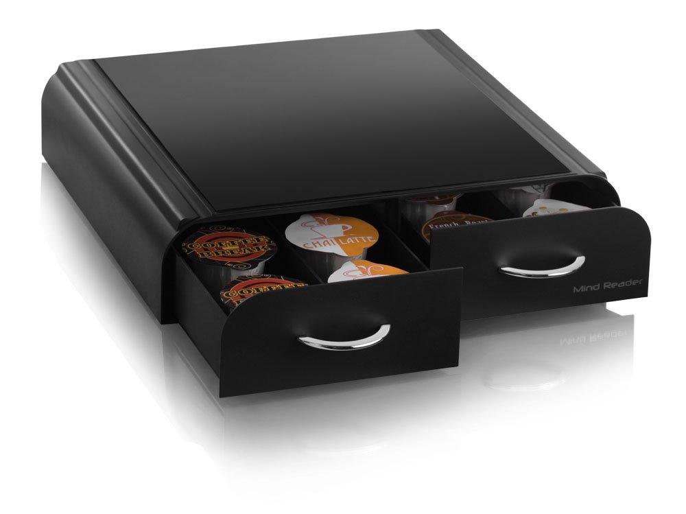 mind reader anchor coffee pod storage drawer for 20 keurig vue packs 48 tass ebay. Black Bedroom Furniture Sets. Home Design Ideas