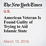 American Veteran Is Found Guilty of Trying to Aid Islamic State | Joseph Goldstein