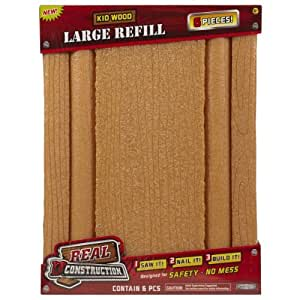 Amazon.com: Real Construction Refills- Bundle Pack (6 In 1) Larger