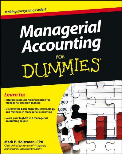 Mark P. Holtzman - Managerial Accounting For Dummies
