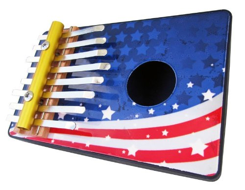 Schoenhut 8 Note Flag Thumb Piano (Red/White/Blue) - 1