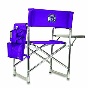 NBA Sacramento Kings Portable Folding Sports Chair, Purple by Picnic Time