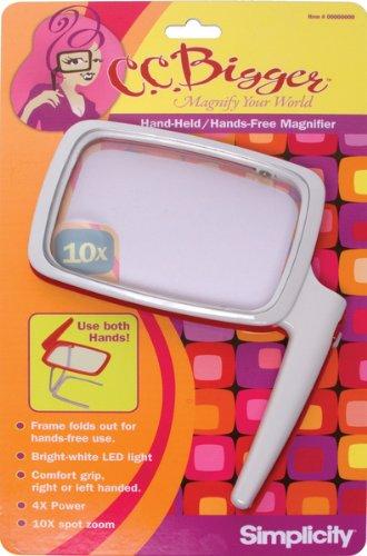 C.C. Bigger 55501021 Hand Held Magnifier - 1