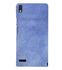 PrintVisa Blue Sand Paper Design 3D Hard Polycarbonate Designer Back Case Cover for Huawei Acend P6