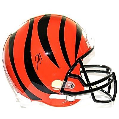 Jeremy Hill Autographed Cincinnati Bengals Full Size Riddell Replica Helmet
