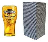 Personalised engraved Magners Irish Cider pint glass in printed quality box, Wedding, Birthday, Fathers Day, 21st, 18th