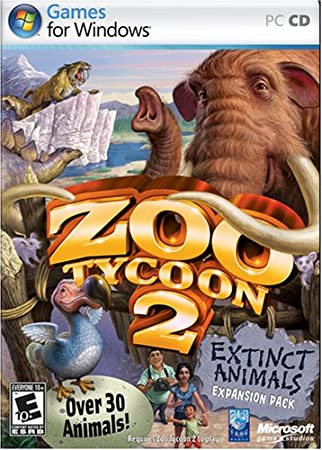 Zoo Tycoon 2 Extinct Animals Expansion Pack