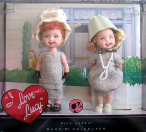 Barbie Lucy Gets A Paris Gown KELLY Dolls - Episode 147 I Love Lucy Collector Set (2008)