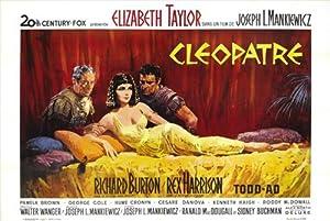 Cleopatra Poster Movie French B 11x17 Elizabeth Taylor Richard Burton Rex Harrison Roddy McDowall