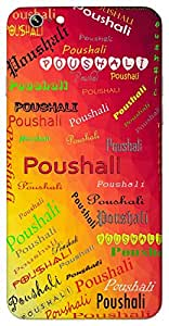 Poushali (of the month Poush) Name & Sign Printed All over customize & Personalized!! Protective back cover for your Smart Phone : Apple iPhone 6