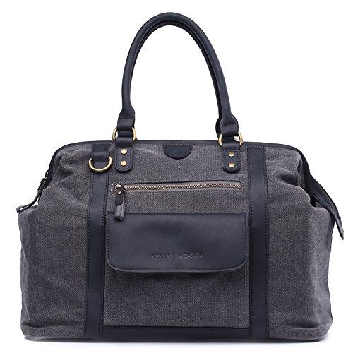 kelly-moore-jude-canvas-leather-multifunction-large-camera-shoulder-bag-grey-with-black-trim