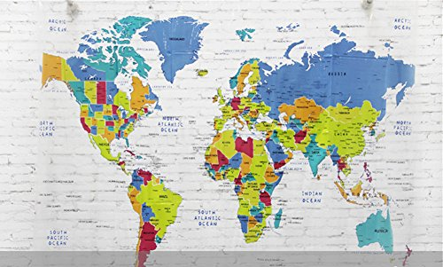 Maps shower curtains shower curtains outlet lee hans mildew free eva shower curtain world map 72inch by 78inch gumiabroncs Choice Image