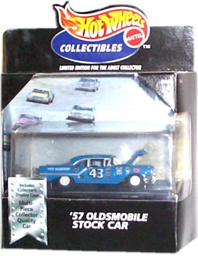 Hot Wheels '57 Oldsmobile Stock Car Black Box 100% - 1