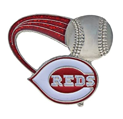 MLB Cincinnati Reds Glitter Trail Pin