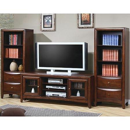 Rachel Walnut TV Stand