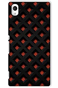 IndiaRangDe Case For Sony Xperia M4 (Printed Back Cover)