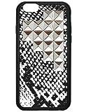 wildflower ( ワイルドフラワー ) セレブリティ クチュール ファブリック iphone6 ケース Snakeskin Silver Pyramid iPhone6 スネークスキン シルバーピラミッド カバー 海外ブランド ロサンゼルス