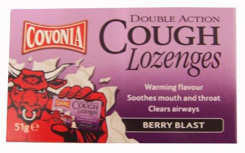 Covonia Double Action Cough Lozenges - Berry Blast