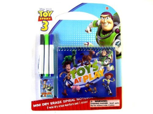 Disney Toy Story Mini Dry Eraser Spiral Book - Toy Story Mini Spiral Pad Set ...