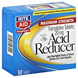 Rite Aid Pharmacy Acid Reducer, Maximum Strength, 20 mg, Tablets, 50 tablets