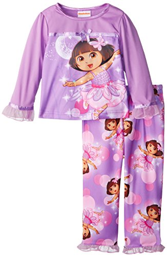 Dora the Explorer Little Girls'Ballet Dance Pajama Set nature explorer box set
