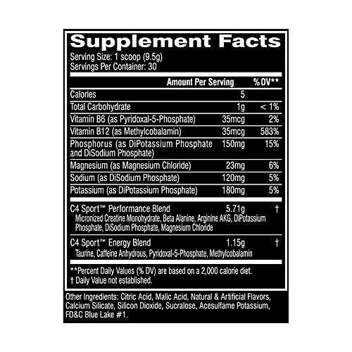 Cellucor-C4-Sport-Concentrated-Energy-and-Performance-Powder-285-Gram