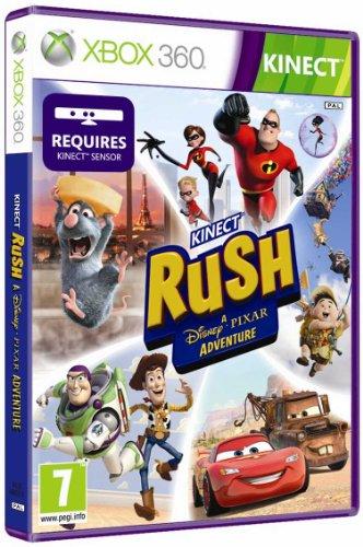 Microsoft Kinect Rush A Disney Pixar Adventure