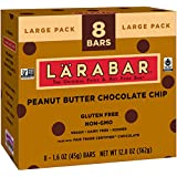 Larabar Peanut Butter Chocolate Chip Fruit and Nut Bars, 12.8 Ounce