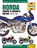 Honda CB600F and CB600FS Hornet Service and Repair Manual: 1998 to 2002 (Haynes Service and Repair Manuals 3915) Phil Mather