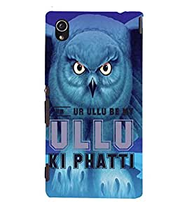 Ulli Ka Patta Cute Fashion 3D Hard Polycarbonate Designer Back Case Cover for Sony Xperia M4 Aqua :: Sony Xperia M4 Aqua Dual