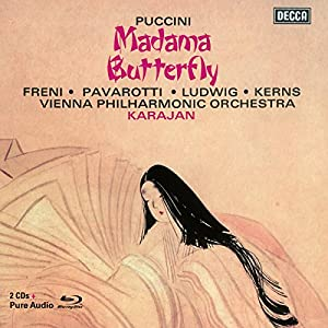 Puccini: Madama Butterfly (Remastered edition with libretto + Blu-Ray Audio disc) by Decca (UMO)