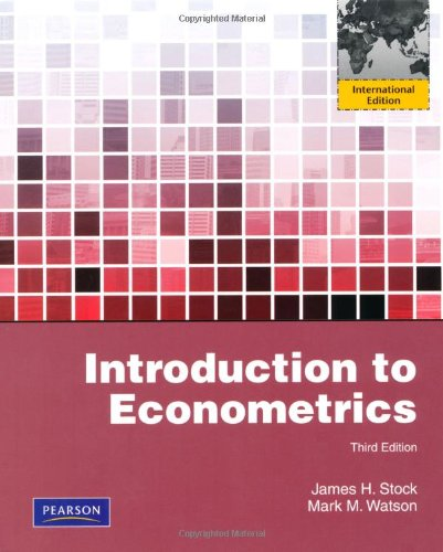 Introduction to econometrics : international ed.