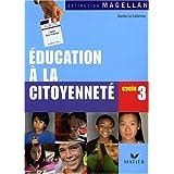 Education à la citoyenneté, cycle 3