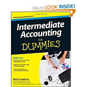 Intermediate Accounting For Dummies:Book.