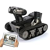 Spy Tank Remote Control with Camera Support App-controlled for Iphone , Ipad, Itouch , Ios/android Wifi Kid Gifts