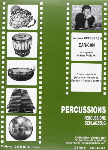 Can-can pour 5 Percussionnistes PDF
